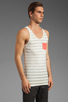 Image 2 of Cohesive & co Malvern Tank Top in Camel