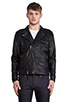 Image 1 of COMUNE Mitchell Motorcycle Jacket in Black