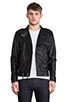 Image 2 of COMUNE Mitchell Motorcycle Jacket in Black