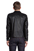 Image 4 of COMUNE Mitchell Motorcycle Jacket in Black