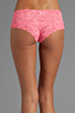 Image 3 of Cosabella Never Say Never Hottie Hot Pant in Neon Rose