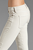 Image 5 of Current/Elliott The Moto Ankle Skinny in Dove