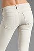 Image 6 of Current/Elliott The Moto Ankle Skinny in Dove