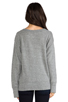 Image 3 of Current/Elliott Stadium Sweatshirt in Heather Grey