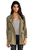 Image 1 of Current/Elliott The Military Parka in Army Green
