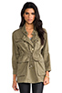 Image 2 of Current/Elliott The Military Parka in Army Green