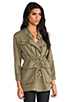 Image 3 of Current/Elliott The Military Parka in Army Green