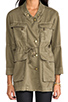 Image 5 of Current/Elliott The Military Parka in Army Green