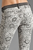 Image 6 of Current/Elliott The Ankle Skinny in Light Grey Lace