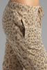 Image 5 of Current/Elliott Banded Bottom Sweat Pant in Camel Leopard