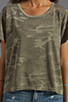 Image 3 of Current/Elliott The Freshman Tee in Army Camo
