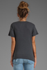 Image 2 of Current/Elliott The V Neck Tee in Dove Tail