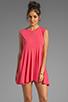 Image 1 of Daftbird Sleeveless Summer Dress in Cosmo