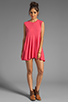 Image 2 of Daftbird Sleeveless Summer Dress in Cosmo