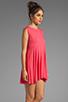 Image 3 of Daftbird Sleeveless Summer Dress in Cosmo