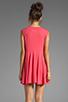 Image 4 of Daftbird Sleeveless Summer Dress in Cosmo