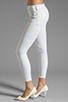 Image 2 of Dakota Collective Bridget Skinny Crop in Neon Cloud