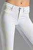 Image 4 of Dakota Collective Bridget Skinny Crop in Neon Cloud