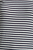 Image 4 of DemyLee Semi Sailor Stripe Top in White/Navy