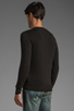 Image 3 of Diesel Meceneo V Neck Sweater in Black