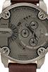 Image 2 of Diesel Little Daddy DZ7258 51mm in Gunmetal IP