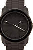 Image 2 of Diesel Double Down Silicone DZ1437 44mm Watch in Black