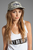 Image 1 of Dimepiece 5-Panel Cap in Grey Snake
