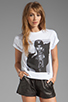 Image 1 of Dimepiece Los Angelino Girl Tee in White
