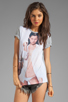 Image 1 of Dimepiece Yung K Tee in White/Grey