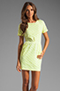 Image 1 of DV by Dolce Vita Ritsa Dress in Cream/Yellow