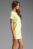 Image 3 of DV by Dolce Vita Ritsa Dress in Cream/Yellow