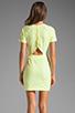 Image 4 of DV by Dolce Vita Ritsa Dress in Cream/Yellow