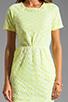 Image 5 of DV by Dolce Vita Ritsa Dress in Cream/Yellow