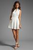 Image 2 of Dolce Vita Ashelle Snake Jacquard Dress in White
