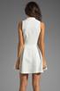 Image 4 of Dolce Vita Ashelle Snake Jacquard Dress in White