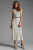 Image 2 of Dolce Vita Lynnie Snake Print Maxi in White/Black
