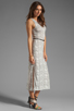 Image 3 of Dolce Vita Lynnie Snake Print Maxi in White/Black