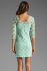 Image 4 of Dolce Vita Cat Crochet Lace Long Sleeve Dress in Mint