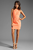 Image 2 of Dolce Vita Estefania Neon Dots Tank Dress in Neon Orange