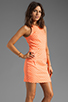 Image 3 of Dolce Vita Estefania Neon Dots Tank Dress in Neon Orange