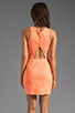 Image 4 of Dolce Vita Estefania Neon Dots Tank Dress in Neon Orange