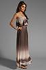 Image 3 of Dolce Vita Fonda Beachscape Strapless Maxi Dress in Brown