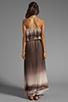 Image 4 of Dolce Vita Fonda Beachscape Strapless Maxi Dress in Brown