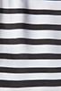 Image 6 of DV by Dolce Vita Adelaide Ascending Stripe T-Shirt Dress in Black/White