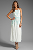 Image 2 of Dolce Vita Rayan Petticoat Embroidery Maxi Dress in White/Mint