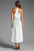 Image 4 of Dolce Vita Rayan Petticoat Embroidery Maxi Dress in White/Mint