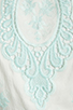 Image 6 of Dolce Vita Rayan Petticoat Embroidery Maxi Dress in White/Mint