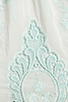Image 6 of Dolce Vita Valentina Petticoat Embroidery Long Sleeve Dress in White/ Mint