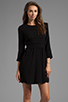 Image 1 of Dolce Vita Dosa Edgy Lace Dress in Black