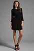Image 2 of Dolce Vita Dosa Edgy Lace Dress in Black